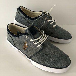 Polo Ralph Lauren Men's Faxon Low Sneakers 11.5